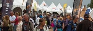 Standhouders op de Dutch Bird Fair