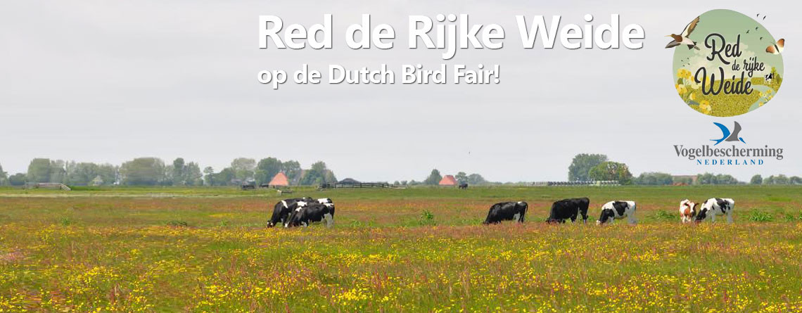 Red de Rijke Weide op de Dutch Bird Fair